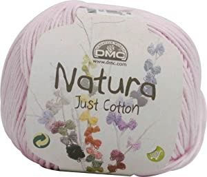 DMC Natura 50g about 155m col.06/Rose Layette 5 coin set (japan import) by Dee MC