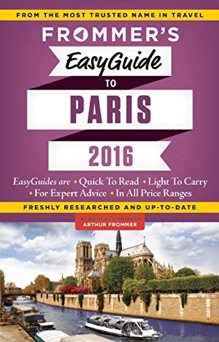 Frommer's EasyGuide to Paris 2016