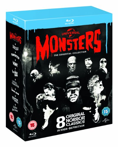 Universal Classic Monsters The - Universal Classic Monsters: The Essential Collection (8 Blu-Ray) [Edizione: Regno Unito]