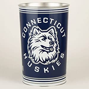 NCAA Tapered Wastebasket NCAA Team: Connecticut