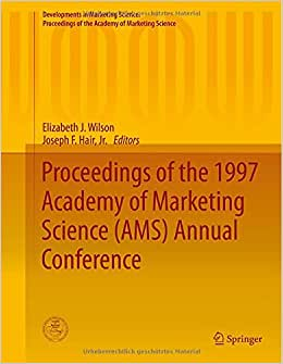 Downloads Proceedings of the 1997 Academy of Marketing Science (AMS) Annual Conference (Developments in Marketing Science: Proceedings of the Academy of Marketing Science) e-book