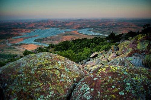 Wichita Mountains in Oklahoma by Iris Greenwell
