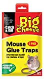 The Big Cheese Ready To Use Mouse Glue Trap Twinpack