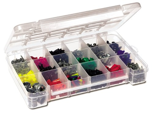 Images for Akro-Mils 5905 Plastic Parts Storage Case for Hardware and Craft, Large, Clear