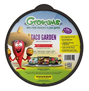 Growums childrens garden kit taco kitchen for Gardening kit for toddlers