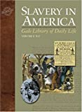 Slavery in America (Gale Library of Daily Life)