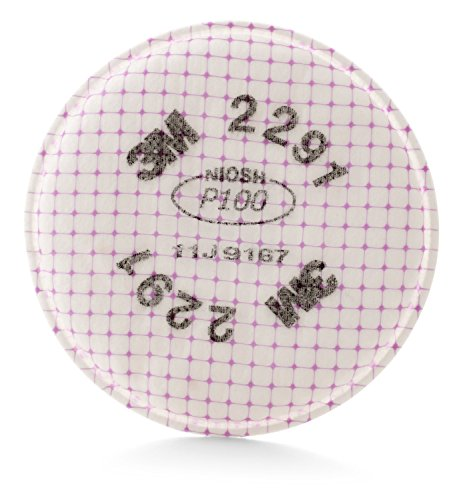 3M Advanced Particulate Filter 2291, P100 Respiratory Protection (Pack of 2)