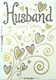 To my husband happy birthday card (GOLD FOIL)