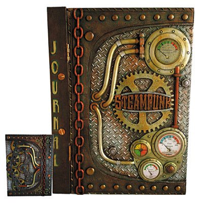 Steampunk Clock Journal 27cm