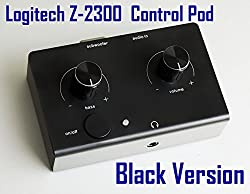 Logitech Z-2300 Computer Speaker Replacement Control Pod Wired Remote