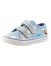 Disney Frozen Girl's Family Forever Blue/White Fashion Sneakers Shoes