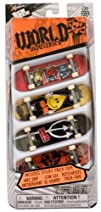 World Industries Tech Deck 4-Finger Skateboard Pack 20048076