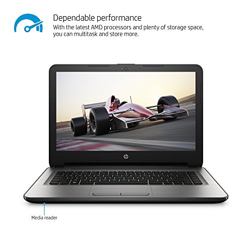 HP 14-an013nr 14-Inch Notebook (AMD E2, 4GB RAM, 32 GB Hard Drive)