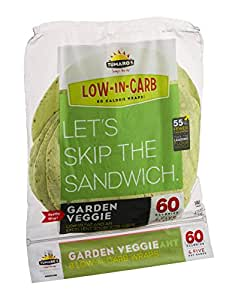 Amazon.com : Tumaros Wraps, Garden Veggie : Grocery & Gourmet Food