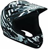 Bell SANCTION Downhill helmet Children black/white line change black/white (Size: S)