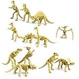 NUOLUX 12st assortierte Dinosaurier Fossil Skelett Figuren Kinder Spielzeug hergestellt von NUOLUX