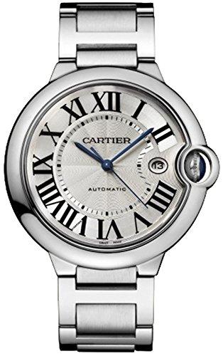 Cartier Ballon Bleu Men's Steel Watch W69012Z4