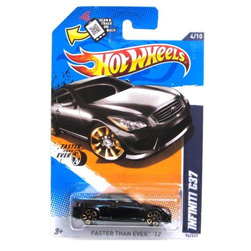2012 Hot Wheels Faster Than Ever Infiniti G37 Black #94/247 (Infiniti G37 Black Emblem compare prices)
