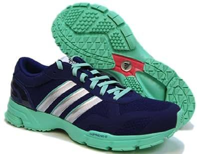 Adidas Marathon 10 NG Women's Running Shoes Blue/Green, Size 9.5