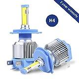 H4 9003 HB2 LED Headlight Bulbs, ProGreen LED Headlamp Conversion Kits for Cars Automotive, 80W 6000LM 6500K Cool White (Pack of 2)