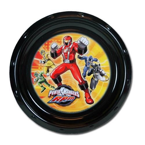 "Power Rangers 8.5"" Round Plate - 1"