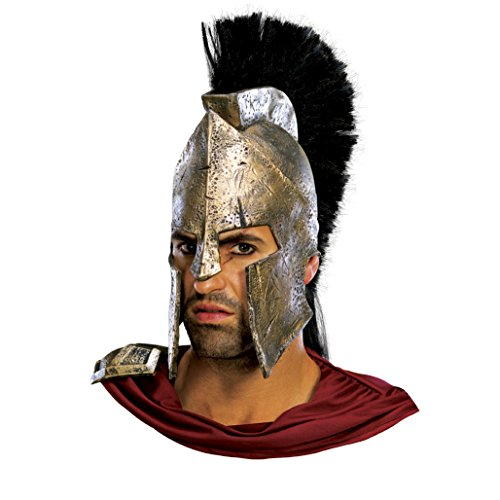 King Leonidas 300 Spartan Helmet Movie Roman Gladiator Warrior Adult Costume