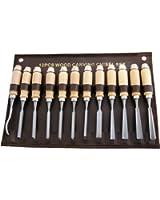 Am-Tech Lot de 12 ciseaux à bois (Import Grande Bretagne)