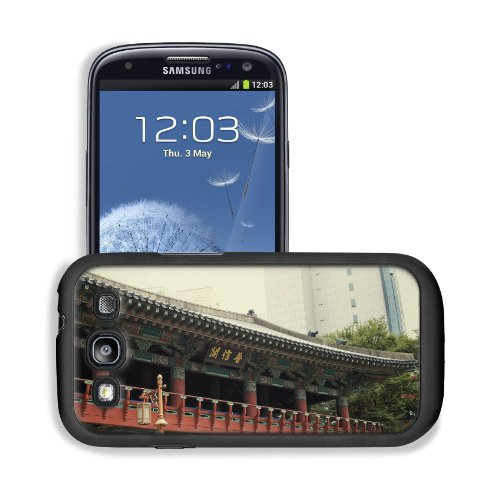 Asian Architecture Seoul South Korea Samsung I9300 Galaxy S3 Snap Cover Premium Leather Design Back Plate Case Customized Made To Order Support Ready 5 3/8 Inch (136Mm) X 2 7/8 Inch (73Mm) X 7/16 Inch (11Mm) Msd Galaxy_S3 Professional Cases Touch Accessor front-1066937