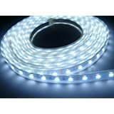 Jaz Deals 20 Meter Waterproof Single Color LED Strip 60LED/M IP67 With Driver (White)