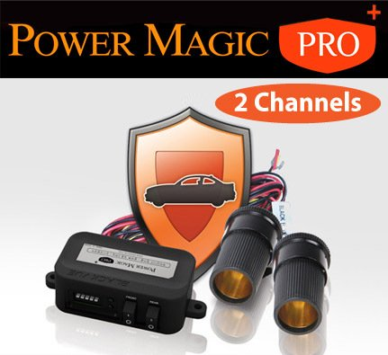 BlackVue Power Magic Pro Plus 2-Channel Front and Rear vehicle Battery Discharge Prevention for Parking Mode (for BlackVue DR350, DR380G and DR400G HD II, DR500GW HD) price