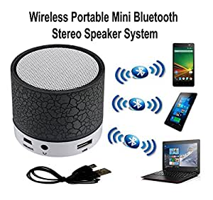 ShiningZon Mini Bluetooth Wireless Speaker Play FM Radio, Audio from TF card and Auxiliary inputs COMPATIBLE With lenovo A7700