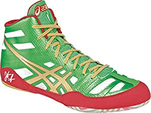 Asics - Mens Jb Elite Shoes, Size: 16 D(M) US Mens, Color: Green/Gold/White