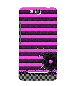 Stylish Design Cute Fashion 3D Hard Polycarbonate Designer Back Case Cover for Micromax Bolt Q338
