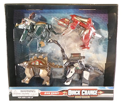 Dino Robot*quick Change* Transformer System
