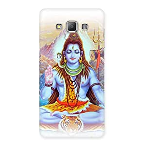 Shiv Blessings Back Case Cover for Galaxy A7
