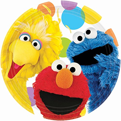 Sesame Street Birthday Party Dinner Plates