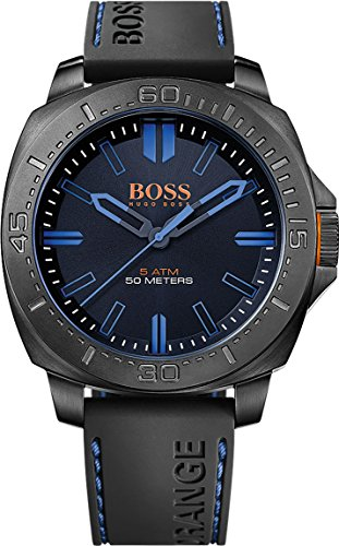 Boss Orange Men's Watch Sao Paulo Analogue Quartz Silicone 1513248