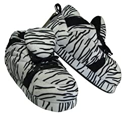Snooki's Zebra Print - Snooki Slippers