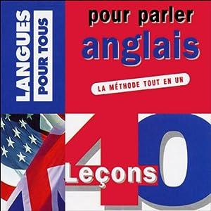 40 leçons pour parler anglais Audiobook