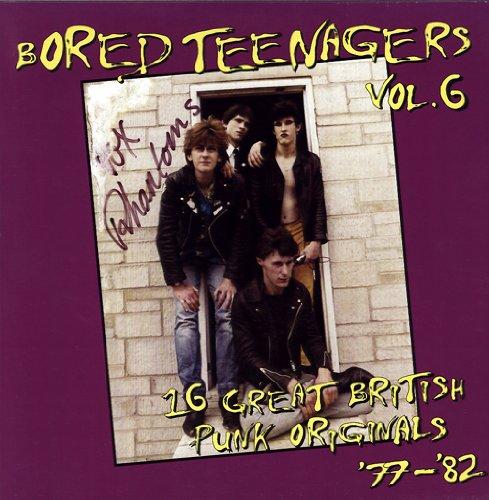 bored teenagers vol. 6: 16 great british punk originals '77-'82 LP