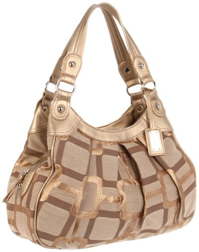Nine West 00690326NW Satchel Metallic