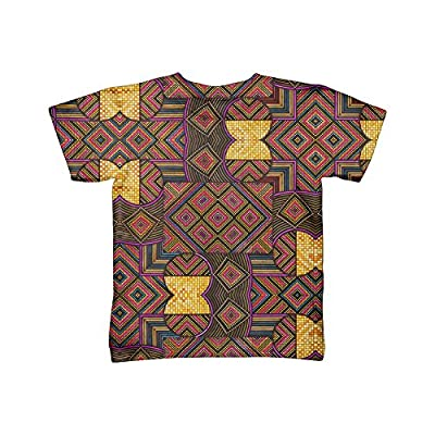 "Yizzam- Eugene Andolsek - ""Just Folk African Cloth"" -TShirt- Kids Shirt"