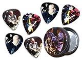 Smashing Pumpkins (KPW) 6 X Live Performance Guitar Picks in Tin