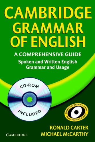 The Cambridge Grammar of English CD-ROM