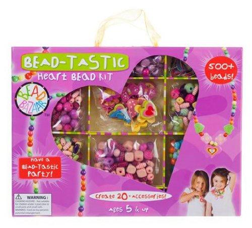 Bead Bazaar B.F.F. Bead Kits and Bead Tastic - Heart