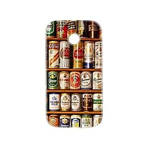 100 Degree Celsius Back Cover for Motorola Moto E 1st Gen (Beer Canes)