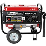 DuroStar DS4400 4,400 Watt Gas Powered Portable Generator With Wheel Kit