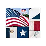 American Flag 10ft x 19ft Sewn Nylon by Valley Forge Flag - No Additions