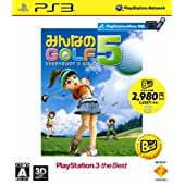 みんなのGOLF 5 PlayStation 3 the Best (再廉価版)