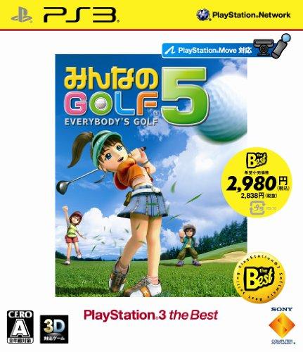 SCE [PS3] �ߤ�ʤ�GOLF 5 PlayStation 3 the Best �������� BCJS-70020 �μ̿�